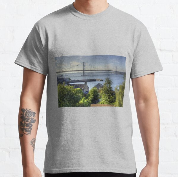 Forth Road Bridge and Harbour Classic T-Shirt