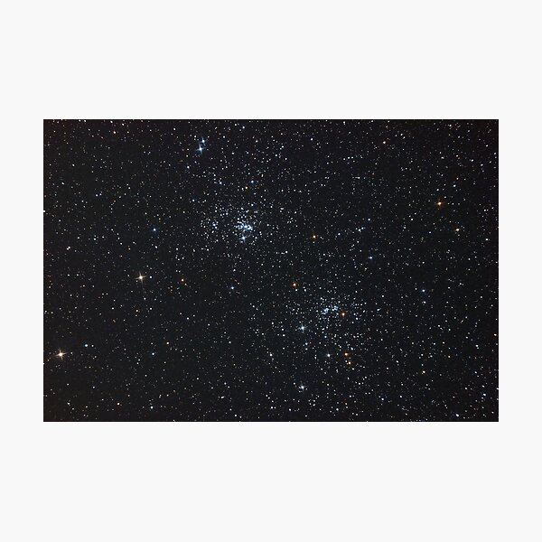Double Star Cluster Photographic Print