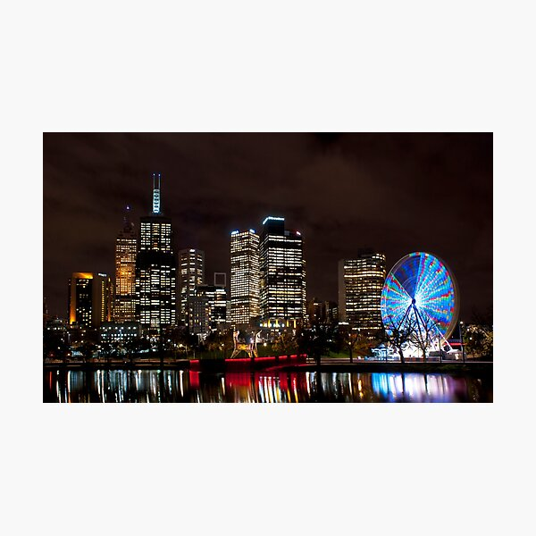 Along The Yarra Photographic Print
