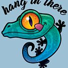 Hang In There Colorful Gecko by fizzgig