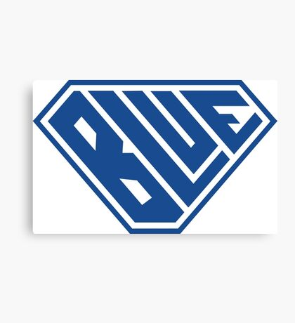 Blue SuperEmpowered (Blue) Canvas Print