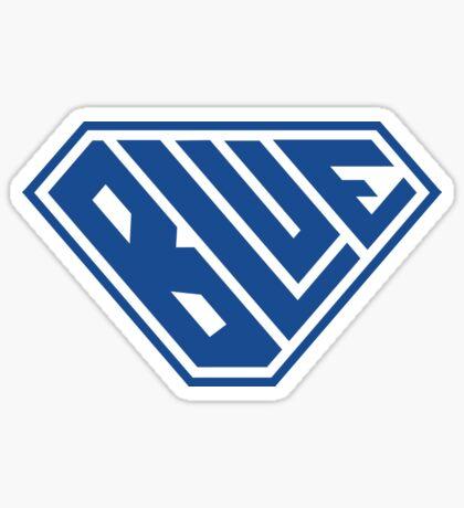 Blue SuperEmpowered (Blue) Sticker