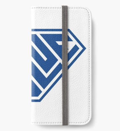 Blue SuperEmpowered (Blue) iPhone Wallet