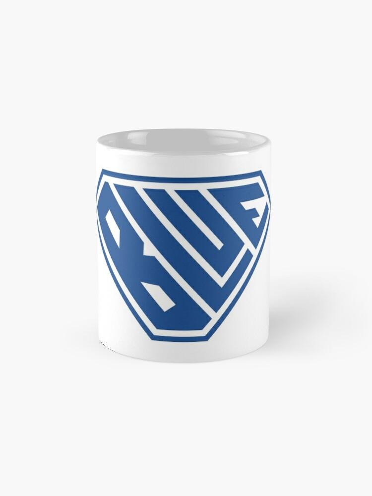 Alternate view of Blue SuperEmpowered (Blue) Standard Mug