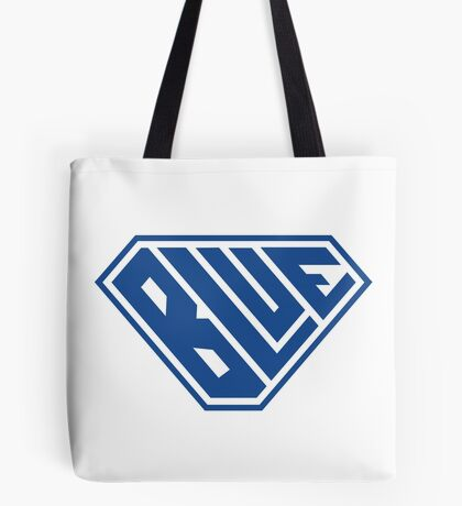 Blue SuperEmpowered (Blue) Tote Bag