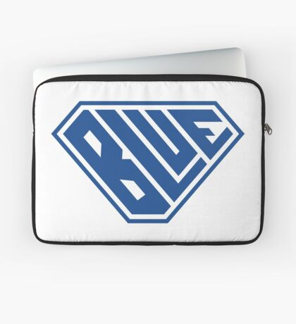 Blue SuperEmpowered (Blue) Laptop Sleeve