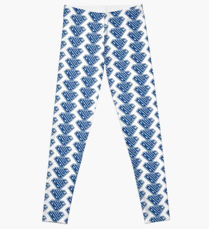 Blue SuperEmpowered (Blue) Leggings