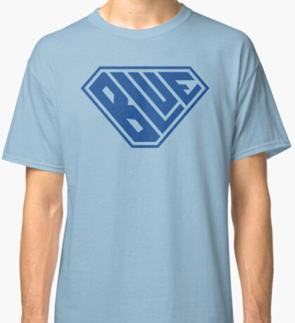 Blue SuperEmpowered (Blue) Classic T-Shirt