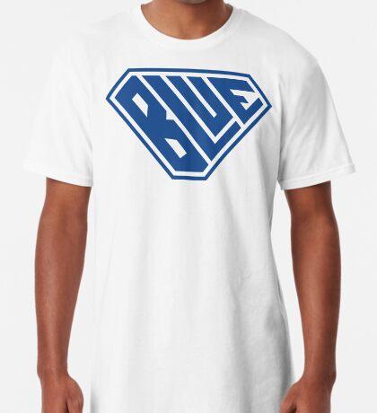 Blue SuperEmpowered (Blue) Long T-Shirt
