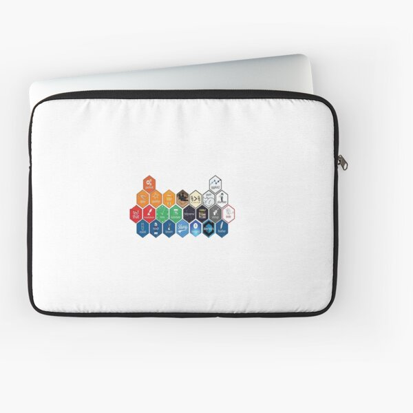R Packages Logo Laptop Sleeve
