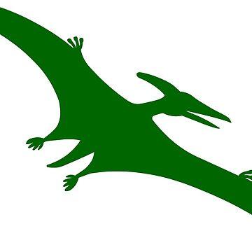 Pterodactyl Dinosaur  by sweetsixty