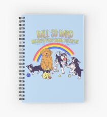 Puppies At Play Spiral Notebook