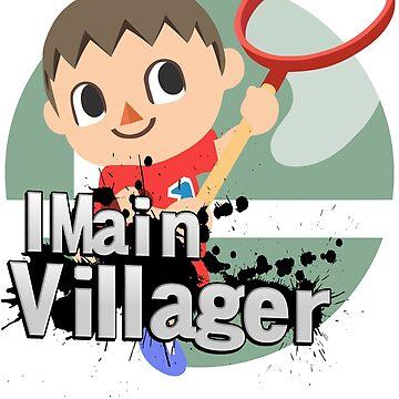 I Main Villager - Super Smash Bros. Ultimate by PrincessCatanna