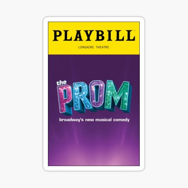the prom musical new Sticker