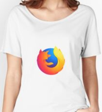 Firefox Logo Women's Relaxed Fit T-Shirt
