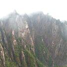 Yellow Mountain in Cloud by Mitchell Blatt, China Travel Writer