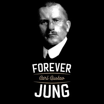 Forever Carl Gustav Jung - Philosophy Gift by The-Nerd-Shirt