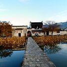 Bridge to Hongcun by Mitchell Blatt, China Travel Writer