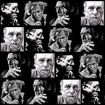 BUKOWSKI - 4 faces by ARTito