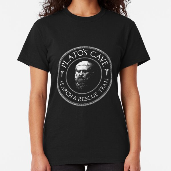Plato's Cave Rescue Team - Philosophy Gift Classic T-Shirt