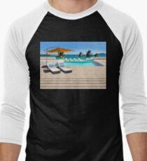 Indulgence postcard from the Seychelles Men's Baseball ¾ T-Shirt