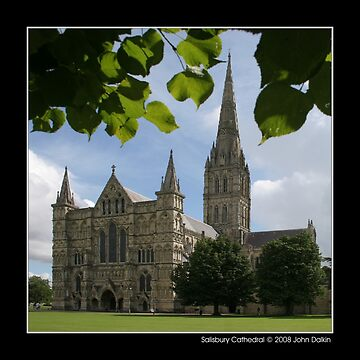 Salisbury Cathedral by JohnDalkin