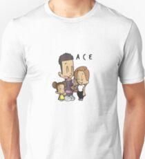 The Ace Family Cartoon Drawing Short Sleeve Shirt Unisex T-Shirt