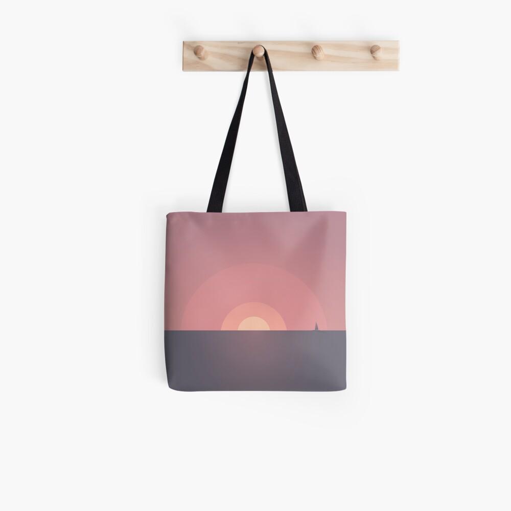 Sunset // Minimal landscapes Tote Bag