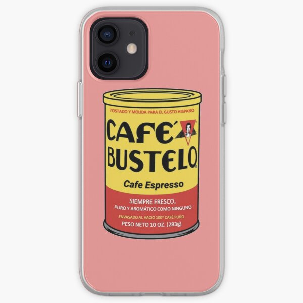 Cafe Bustle iPhone Soft Case