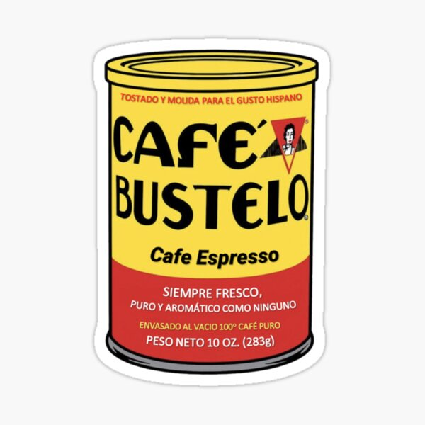 Cafe Bustle Sticker