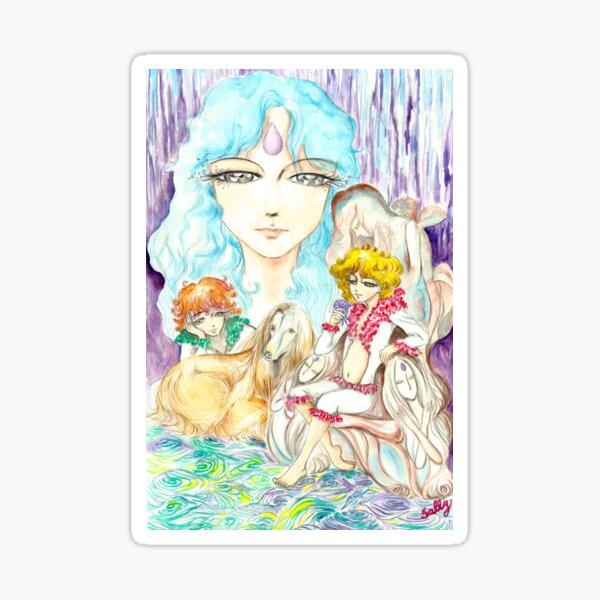 Insomnia (watercolor) Sticker