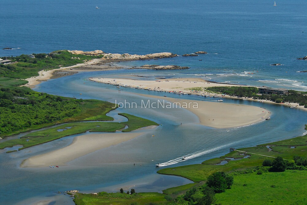 Where Narragansett Beach Ends Narrow River Begins by John McNamara