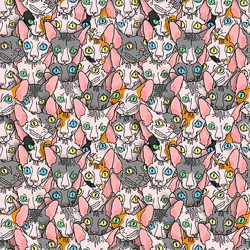 all over sphynx design (all items) by B0red