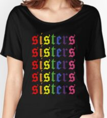 James Charles Sisters Artistry Logo Repeating Women's Relaxed Fit T-Shirt