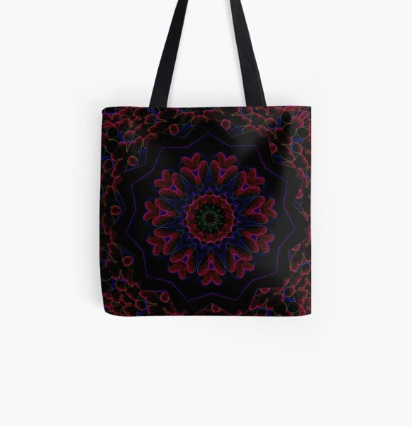 Post Alien Luminance Pedals Design Offering From Green Bee Mee  All Over Print Tote Bag