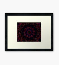 Post Alien Luminance Pedals Design Offering From Green Bee Mee  Framed Print