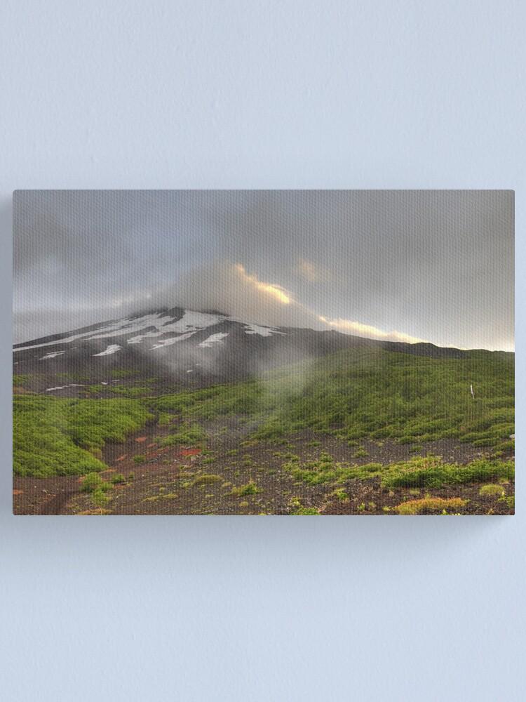 Alternate view of Mount Fuji Canvas Print
