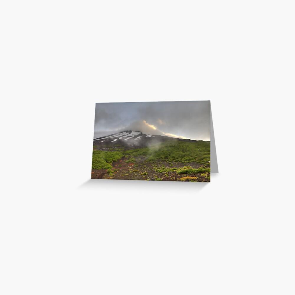 Mount Fuji Greeting Card
