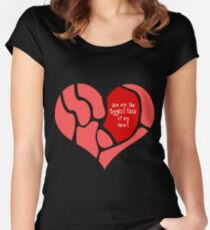 You are the Biggest Piece of my Heart Women's Fitted Scoop T-Shirt
