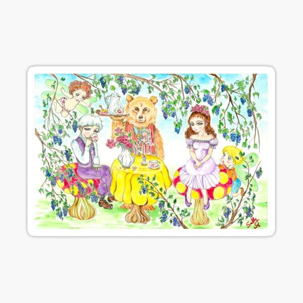 Blind Date (watercolor) Sticker