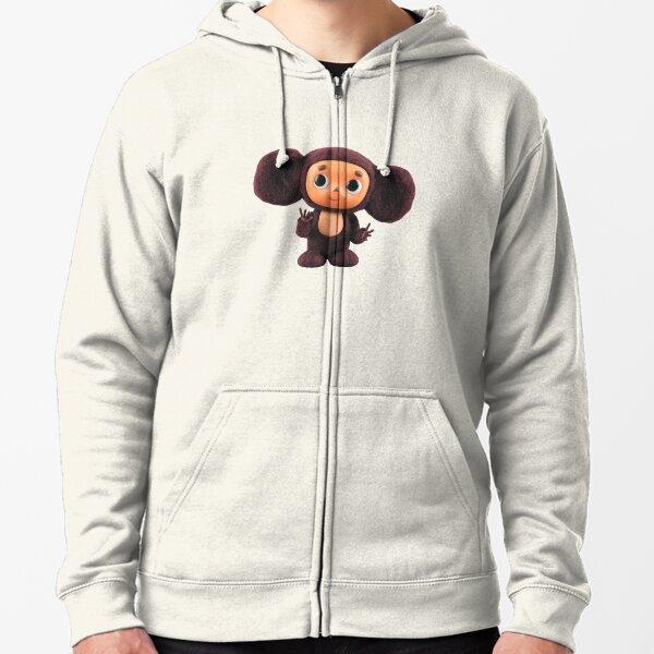 Cheburashka Zipped Hoodie