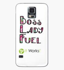 Boss Lady Fuel Lily Es funktioniert Hülle & Skin für Samsung Galaxy