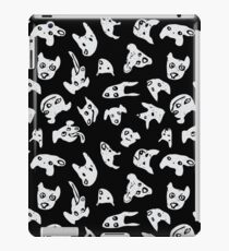 They're All Good Dogs Black and White iPad Case/Skin