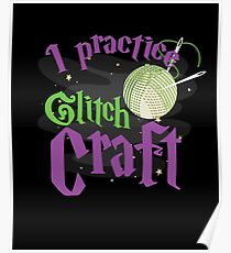 Awesome Craft Crafter Gifts Yarn Quilt Crochet Knit Poster