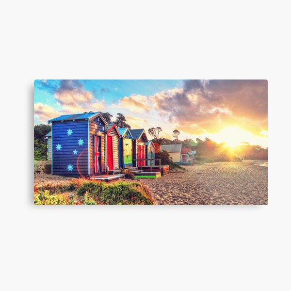 Australian Beach Landscape Metal Print