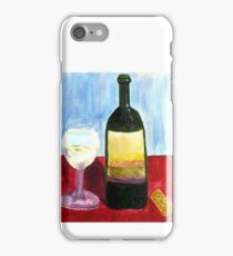 Relax And Have a Glass of Wine iPhone Case/Skin