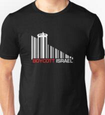Boycott Israel NEG (wall version) T-Shirt