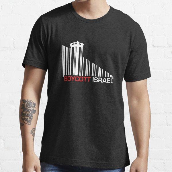 Boycott Israel NEG (wall version) Essential T-Shirt