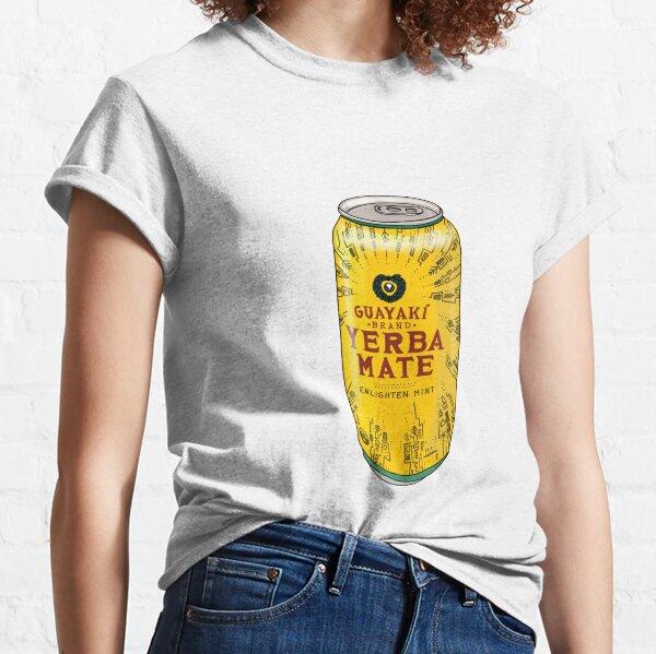Lata de bebida de yerba mate Camiseta clásica