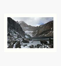 Chasm Lake in October Art Print